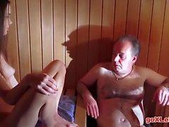 Baby Jewel Sex In Sauna