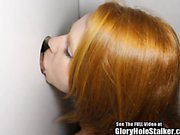 Big titty ginger girl Cherry anally fucked at the gloryhole