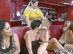 Sensazionali parti stripper di