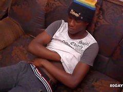 Черный Африканский Twink отбивает
