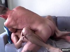 Hairy gay flip flop and cumshot
