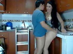 Brunette russian mature amateur milf hidden webcam voyeur