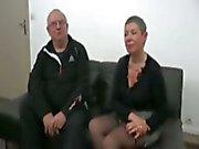 Her husband watches as she fucks