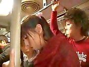 Madre e la figlia Bus di viaggio