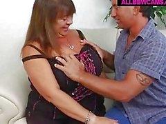 Mature Bbw Tit Fucking Open Puss...