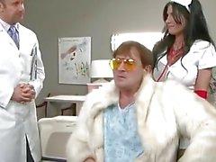 Rebeca Linares porno hardcore en hospitalar