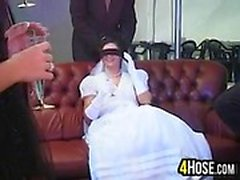 Nuevos novia jodidas por múltiple Cocks