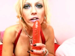 German Big Tit MILF in perfect Dirty-Talk Help you Cum