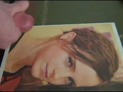 Emma Watson Cum Tribute Collection