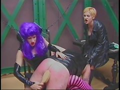 Lucky slave has two mistresses