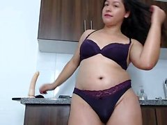 Creampie latin se masturber en direct