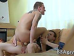 Böse Homosexuell Sex mit heißem große Stücke