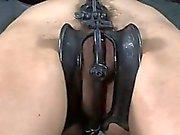 Clamping beautys knockers