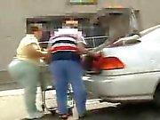 Granny got a big 'ol butt