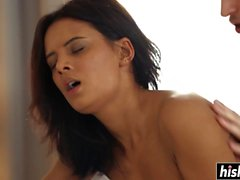 Hot Mary has fun with a dick