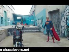 Batman vs Superman Die Homosexuell Porno-Parodie