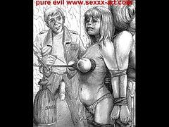 Das Böse Horror BDSM-Grafik