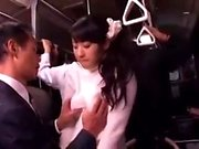 Japon halk otobüsü oral seks ve lanet