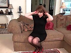 Milfs Tracy e di Raquel staccare il collant nylon di