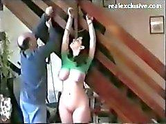 Kinky trio FMM com a escravidão e um monte de esperma