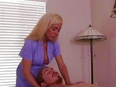 Blinde MILF Orgasmuskontrolle