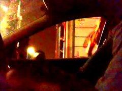 Dell'automobile di Flash Cagna guarda mia Cazzo grosso e di la mia sborra