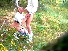 scopa nel bosco