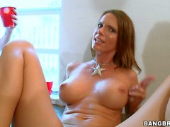 Dorm party Diamond Kitty Jennifer Dark and Jada Stevens