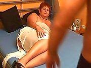 Chubby Hobby Frau blasen und ficken mit abspritzen