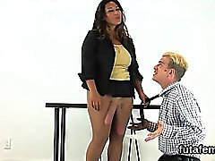 Teens screw lovers asshole with huge belt dicks and ejaculat