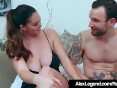 Peituda Alison Tyler Ditches Dorky Data to Fuck Alex legenda!