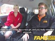 Fake Driving School Задняя киска для киски и крема для студентки