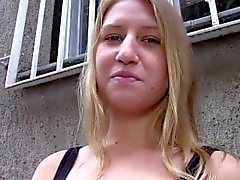 PublicAgent Russian accepts cash for sex from stranger