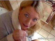 Daynia ist eine geile blonde bitch!