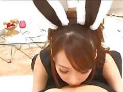 Sexy Japanese bunny likes your cock