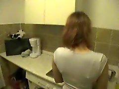 Amateur keuken neuken