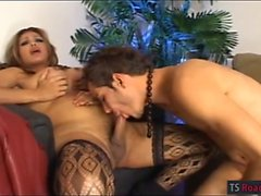 Transexuales Tag pechos gran Penélope de Jolie en medias la folla chico caliente
