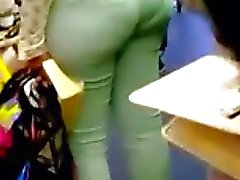 phat ass with a nice vpl
