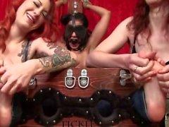 Internsive Tickle - Maksimum Ceza Sahrye gagged ve kot pantolon gıdıklayan