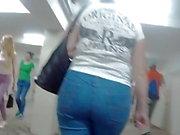 Seguo milfs da grande culo in jeans