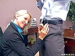 Busty hr manager Emma gets fucked hard by Johnny