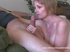 A granny is hornier than ever and wants to taste that stiff young willy