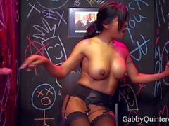 Latina Gabby Quinteros at the GloryHole