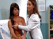Lesbian Natasha Nice and Layla Rose