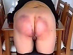 Dick und schön Gürtel geschlagenen