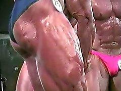 músculos calientes