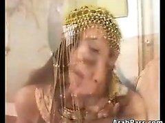 Exotiques la mère arabe Doing It d'un disque du sexe