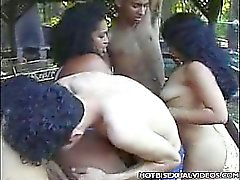 Outdoor Bisexual Orgy