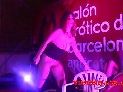 Deborahmjölnare Vild striptease y mamada en el SEB