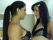 Hot Bruna Butterfly and Beatricy Velmont
